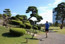 Laufen in Tokio