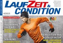 Die neue LAUFZEIT&CONDITION 4/2015 mit einem bunten Frühlingsstrauß an Laufthemen