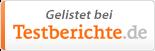 LAUFZEIT&CONDITION ist gelistet bei testberichte.de