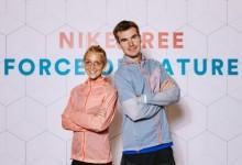 Jana Sussmann und Arne Gabius präsentieren die neue Nike-Free-Kollektion