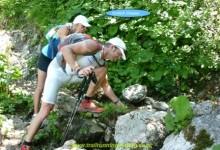 Der dehydrierte Geländeläufer