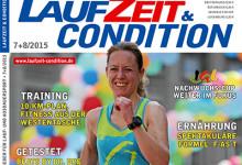Die Sommerausgabe der LAUZEIT&CONDITION 7+8/2015 bietet einen prallgefüllten Themen-Mix