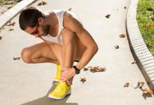Schneller fit nach Verletzungen  PAUSE – E I S – COMPRESSION – HOCHLEGEN –