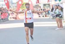 David Schönherr und Ina Radix siegten beim Dortmunder Halbmarathon