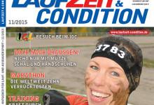 Mit LAUFZEIT&CONDITION 11/2015 gesund durch den Winter laufen