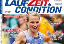 LAUFZEIT&CONDITION 12/2015 ist im Handel