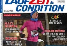 Mit LAUFZEIT&CONDITION 1+2/2016 ins neue Laufjahr!
