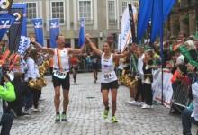Friedenslauf von Osnabrück nach Münster als Vorbereitung zum Volksbank-Münster-Marathon