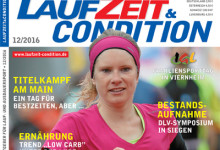 LAUFZEIT&CONDITION 12/2016: Wir stellen Euch die beste Laufliteratur vor