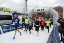 Mehr als 350 Teilnehmer bei Premiere der 1. Winterlaufserie Inselpark Wilhelmsburg