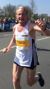 Klemens Wittig beim Rekordlauf von Hannover: Foto: Behrens