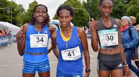 23. hella hamburg halbmarathon: Teilnehmer- und Streckenrekord