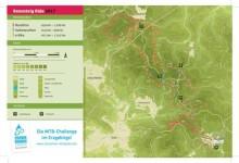619 Mountainbiker starteten beim ersten RENNSTEIGRIDE