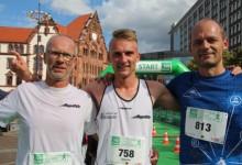 Sascha van Staa und Sandra Schmidt Gesamtsieger und Stadtmeister