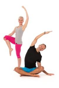 Pilates-Autoren-Duo. Fotos: privat