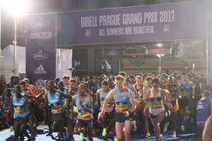 Start zum 10 km Grand Prix in Prag 2017