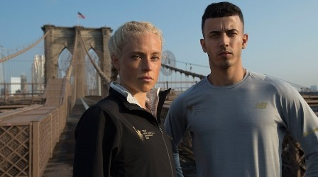 Extra für Marathon in New York