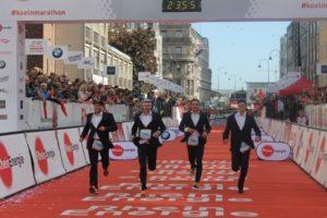 Der Staffelmarathon war einmal mehr ein echter Hingucker in Köln