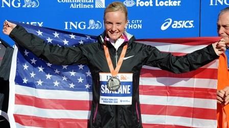 New York-Marathon: Shalane Flanagan überrascht