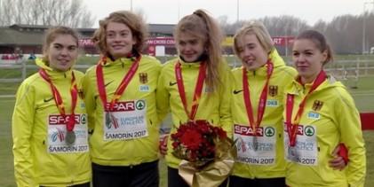 Svenja Pingpank gewinnt Teamsilber bei der EM