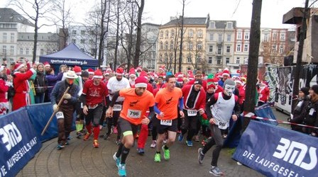 St. Pauli X-Mass Run platzte aus allen Nähten