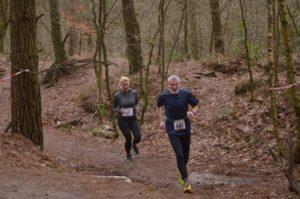 Einer der ältesten Läufer im Feld: der 77-jährige Dietrich Steinke (SV Conc. Neermoor) Fotos: Toli Schanssema