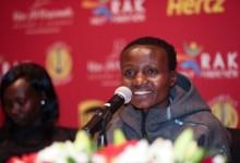 Weltrekordlerin Joyciline Jepkosgei gegen Mary Keitany in RAK