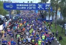 40.000 Teilnehmer in Tel Aviv laufend unterwegs