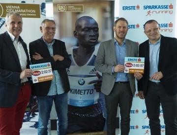 Dennis Kimetto startet beim Vienna City Marathon