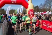 800 Starter beim 2.Osterlauf in Köln