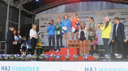 DM-Halbmarathon Hitzeschlacht in Hannover