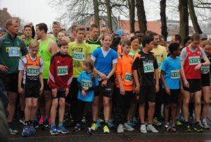 Großes Teilnehmerfeld über 5 km beim Norder Citylauf 2018